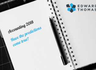 Accounting 2018 – Have the Predictions Come True?