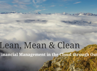 Financial Management in the Cloud through Outsourcing